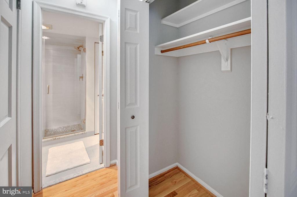 Master second closet - 2100 LEE HWY #241, ARLINGTON