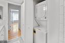 Guest bathroom washer/dryer - 2100 LEE HWY #241, ARLINGTON