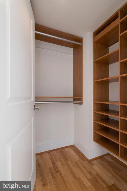 MBR closet 1 of 2 - 1830 JEFFERSON PL NW #14, WASHINGTON