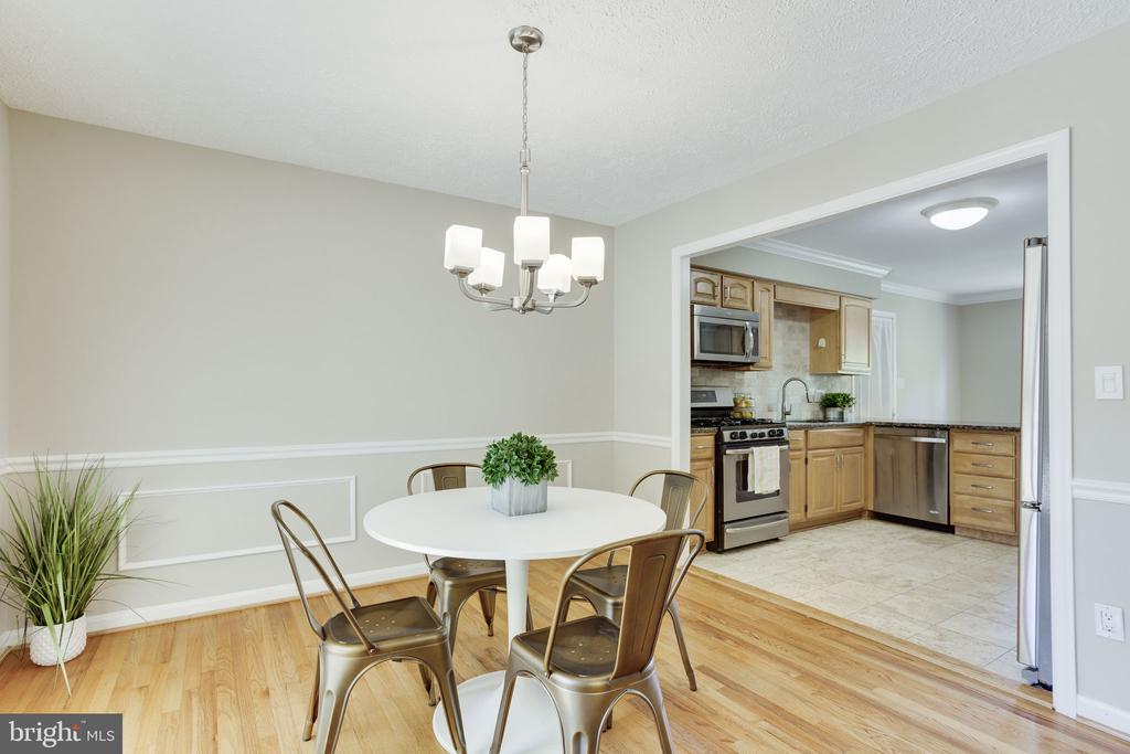 Dining Room - 1906 GREAT FALLS ST, MCLEAN