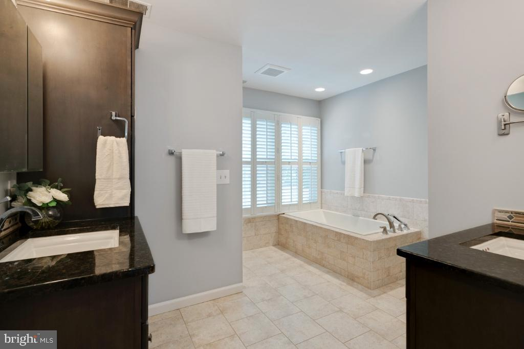 Spa like master bath with custom upgrades - 3619 ELDERBERRY PL, FAIRFAX