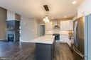 Kitchen w Granite and Stainless - 6823 W SHAVANO, NEW MARKET