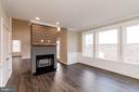 Double sided fireplace - 6823 W SHAVANO, NEW MARKET
