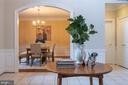View into Dining Room - 3601 SURREY DR, ALEXANDRIA