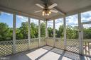 Screened in Back Porch - 22669 WATSON RD, LEESBURG