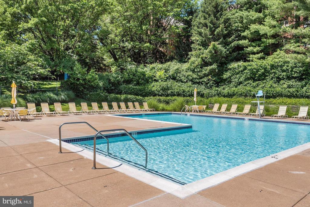 Outdoor pool - 2100 LEE HWY #241, ARLINGTON