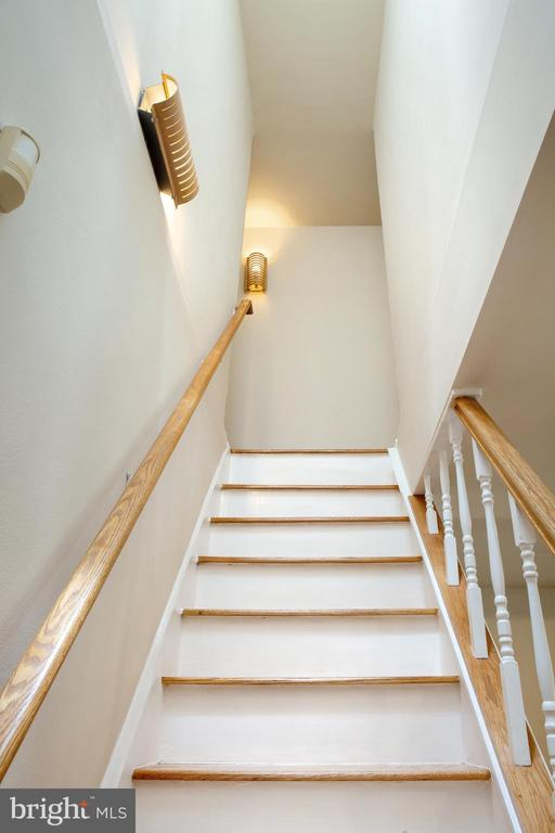 Ascending Main Stairs to Upper Level - 726 6TH ST NE, WASHINGTON