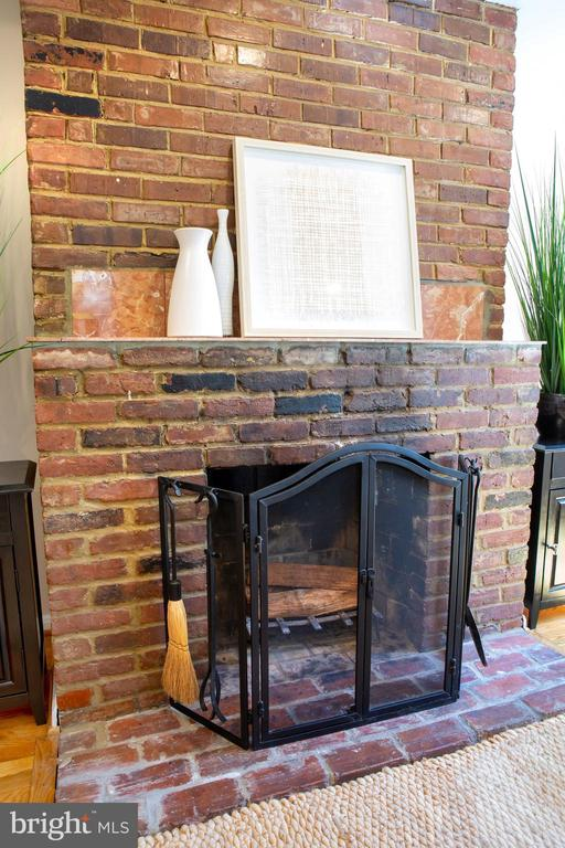 Living Room Fireplace - 726 6TH ST NE, WASHINGTON
