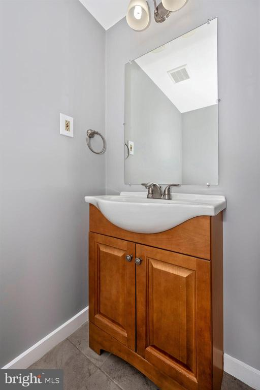 Powder Room in Finished Walkout Basement - 2818 ASHMONT TER, SILVER SPRING