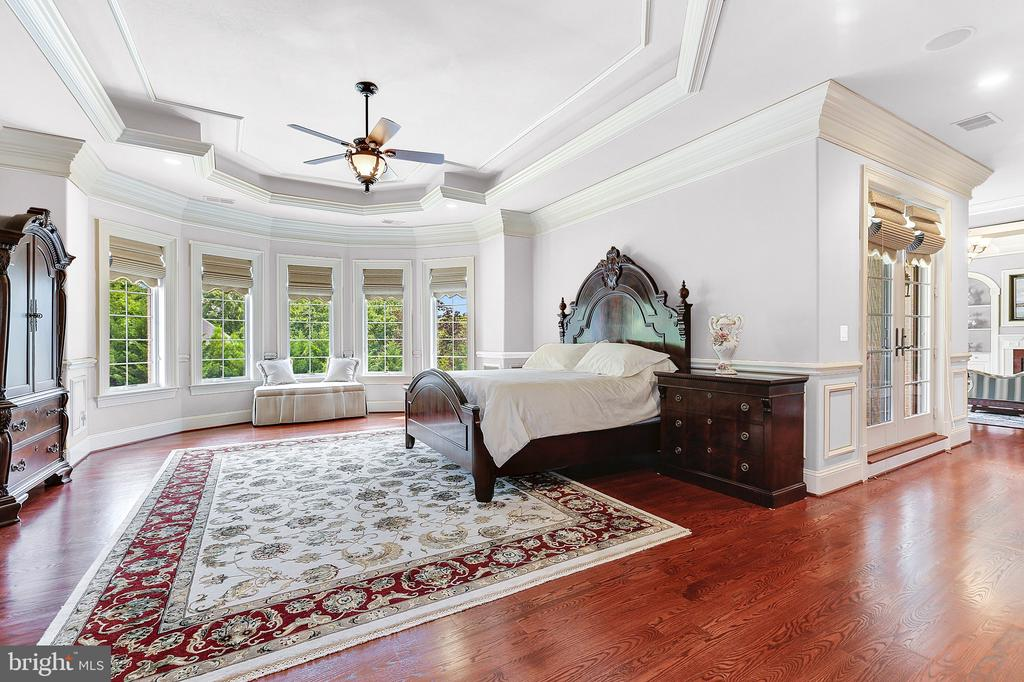 Oversized Master Bedroom w. Adjacent Morning Bar & - 8334 ALVORD ST, MCLEAN