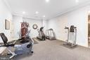 Fully Equipped Exercise Room - 8334 ALVORD ST, MCLEAN