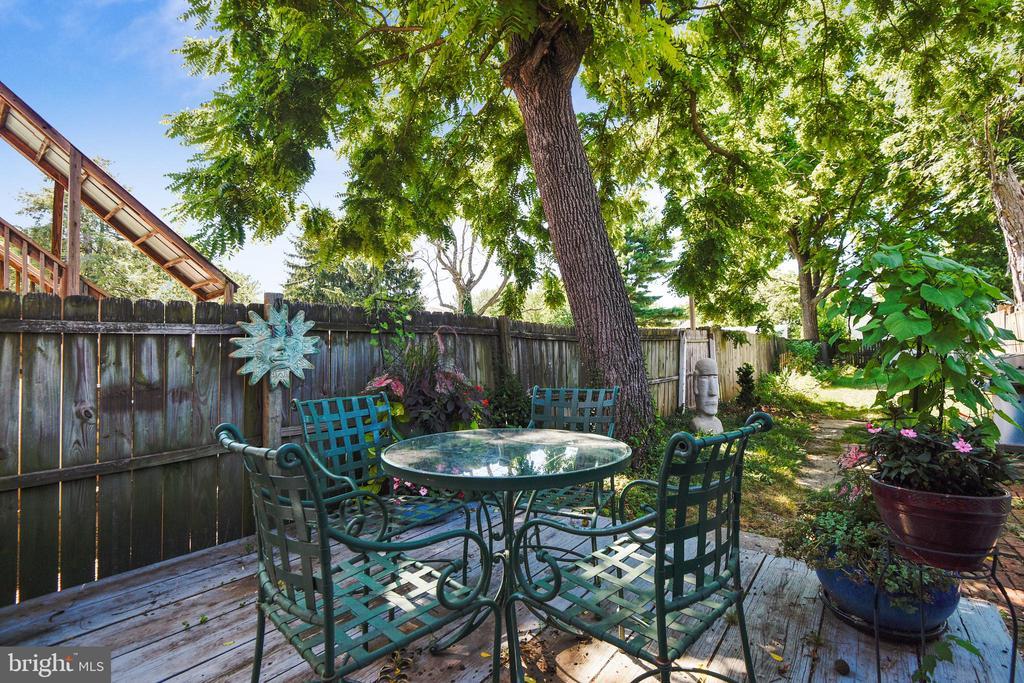 Dine Al-Fresco in your beautiful yard! - 432 W SOUTH ST, FREDERICK