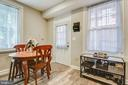 Eat-in Kitchen & access to back yard! - 432 W SOUTH ST, FREDERICK