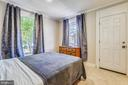 Upstairs Rear Bedroom with Access to Balcony - 432 W SOUTH ST, FREDERICK