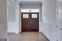 Front Entrance - 7411 NIGH RD, FALLS CHURCH