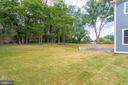 Expansive Backyard with manicured Lawn - 7411 NIGH RD, FALLS CHURCH