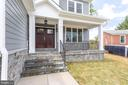 Front of House Stone Porch - 7411 NIGH RD, FALLS CHURCH