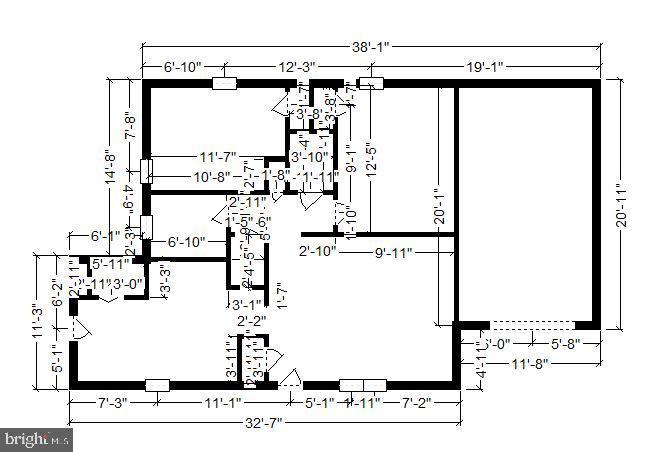 Floor plan - 3603 KEOTA ST, ALEXANDRIA