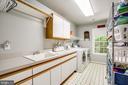 Huge laundry room on bedroom level - 9101 SNOWY EGRET CT, SPOTSYLVANIA