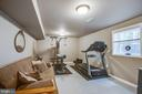 Exercise room is Bedroom 5 in basement - 9101 SNOWY EGRET CT, SPOTSYLVANIA