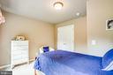 Bedroom 4 can be enlarged thru to craft room - 9101 SNOWY EGRET CT, SPOTSYLVANIA