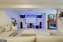 Recreation Room and Home Theater - 2900 CAMPTOWN CT, HAYMARKET
