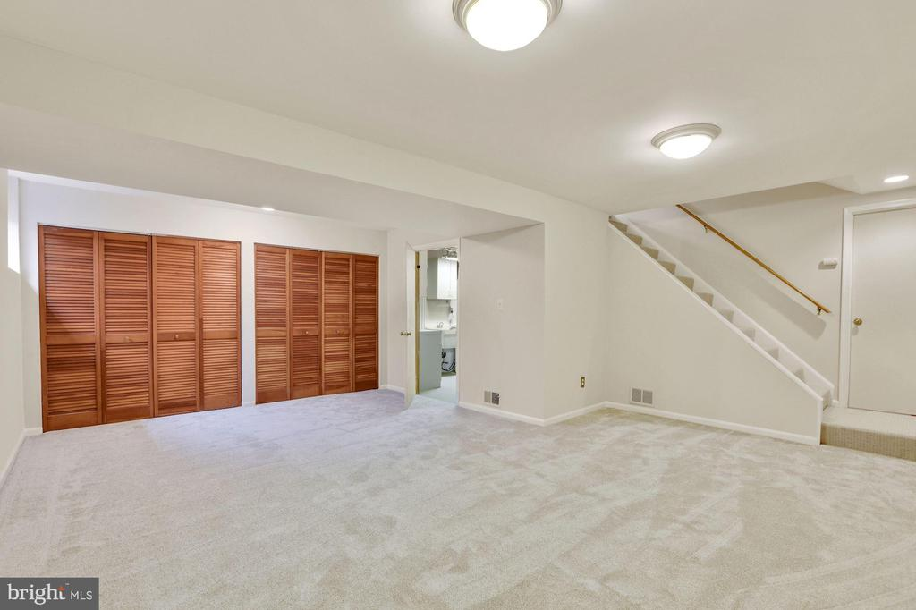 Finished lower lever - 5038 DEQUINCEY DR, FAIRFAX
