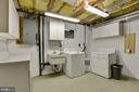 Laundry/utility room - 5038 DEQUINCEY DR, FAIRFAX