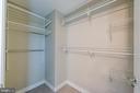 Spacious walk in closet - 555 MASSACHUSETTS AVE NW #202, WASHINGTON