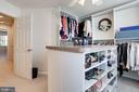Extensive Storage Space in Closet - 12197 CHANCERY STATION CIR, RESTON