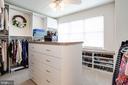 Bedroom Converted to Large Closet w/ window light - 12197 CHANCERY STATION CIR, RESTON