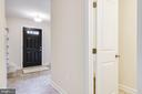 View of Foyer from Kitchen - 4915 KING SOLOMON DR, ANNANDALE