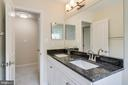 Hall Bath with Granite - 4915 KING SOLOMON DR, ANNANDALE