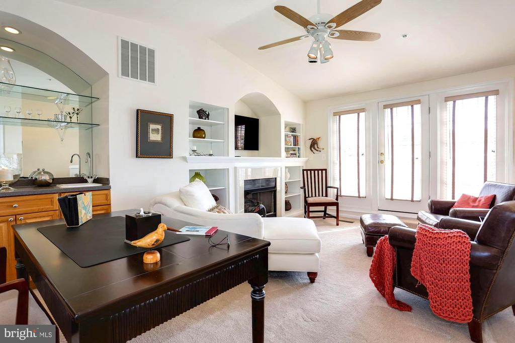 Loft Area with Exit to Roof Top Terrace - 12197 CHANCERY STATION CIR, RESTON