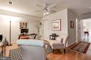 Lower Level Office or Bedroom w/Exit to Patio - 12197 CHANCERY STATION CIR, RESTON
