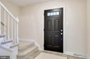 Foyer to Upstairs - 4915 KING SOLOMON DR, ANNANDALE
