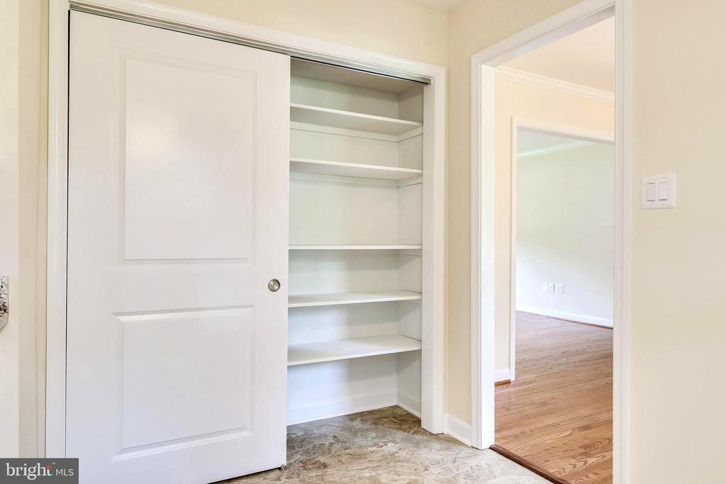 Huge Pantry in Kitchen across from Eat in Space - 4915 KING SOLOMON DR, ANNANDALE