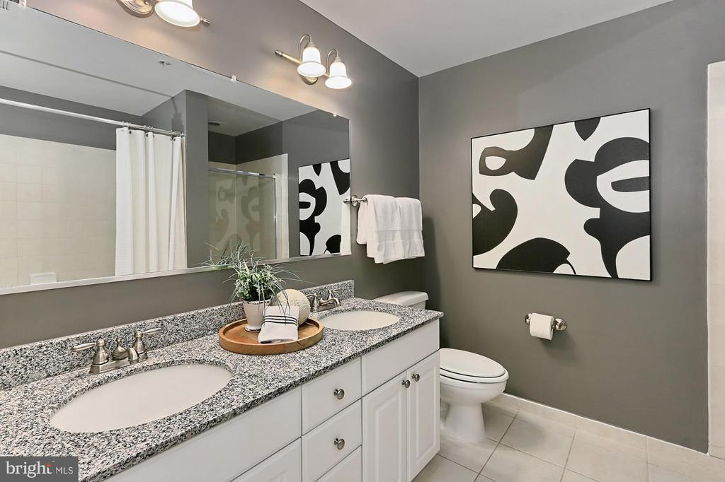 Granite counters and double sinks - 3650 S GLEBE RD #238, ARLINGTON