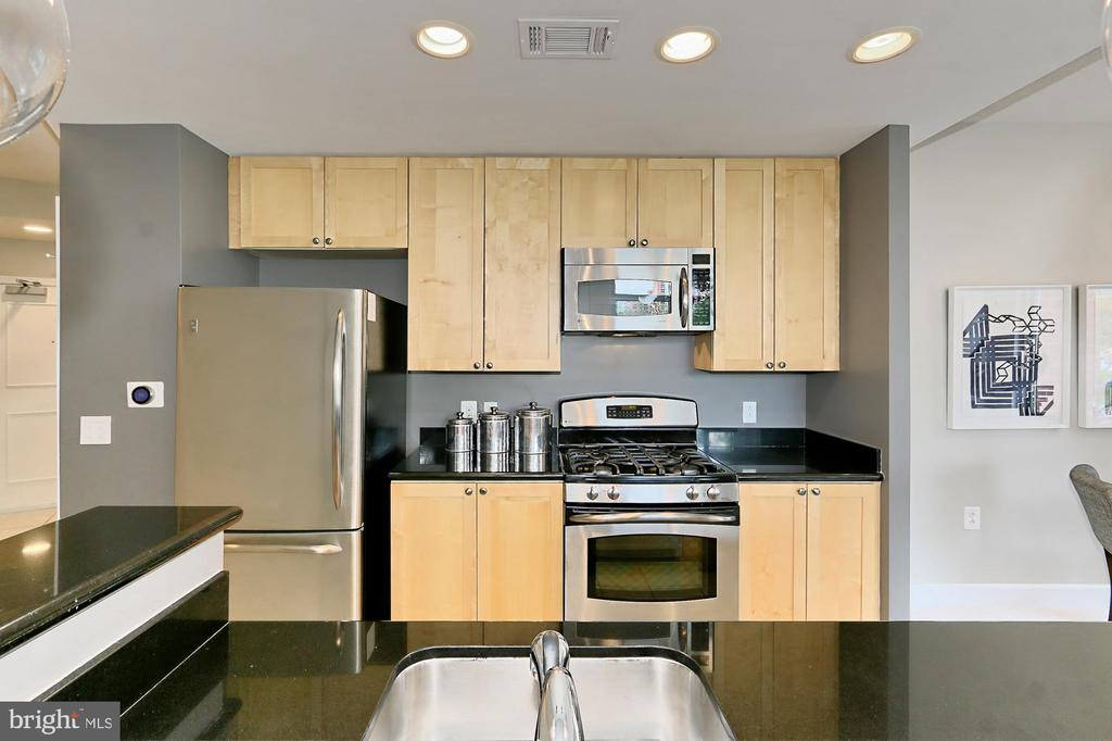 Sleek maple cabinets - 3650 S GLEBE RD #238, ARLINGTON