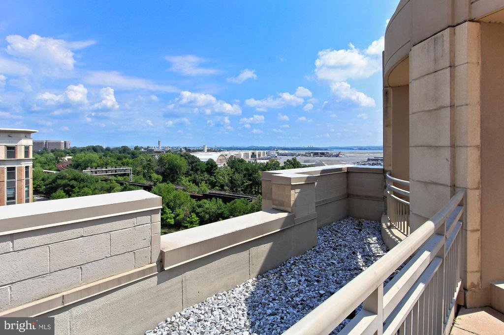View from Rooftop - 3650 S GLEBE RD #238, ARLINGTON