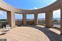 Rooftop views include Potomac River - 3650 S GLEBE RD #238, ARLINGTON