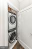 Stacked front load washer and dryer - 603 SLADE CT, ALEXANDRIA