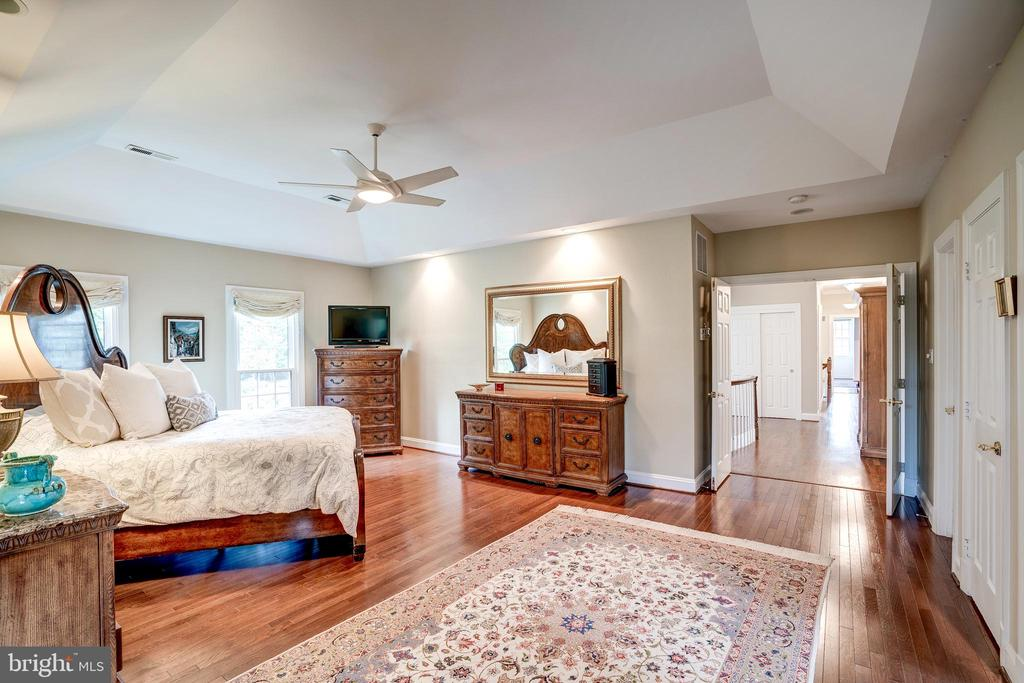 Private master bedroom with walk-in closet - 9318 LUDGATE DR, ALEXANDRIA