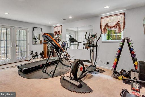 exercise room - 6420 GUARD MOUNT CT, CENTREVILLE