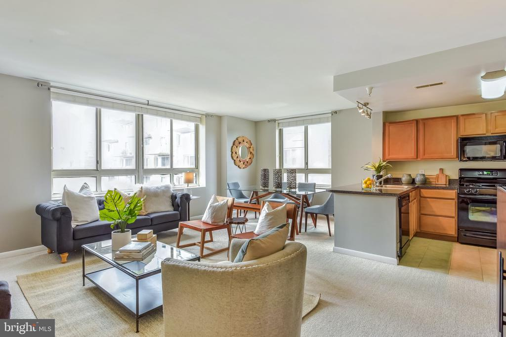 Open Floor Plan - 350 G ST SW #N501, WASHINGTON