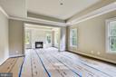Hardwoods in Master bedroom & sitting room - 9524 LEEMAY ST, VIENNA