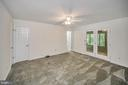 Master Bedroom view to bath & Sun Rm - 10 RAPIDAN RD, LOCUST GROVE