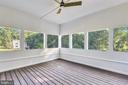 Escape to your porch for a tree-filled view - 9524 LEEMAY ST, VIENNA