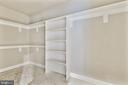 Finished lower-level storage - 9524 LEEMAY ST, VIENNA