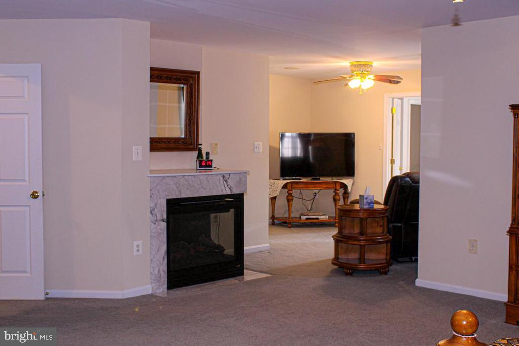 fireplace in owners suite - 3220 LACROSSE CT, DUNKIRK